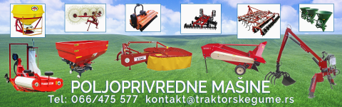 Pored prskalica pogledajte i poljoprivredne mašine